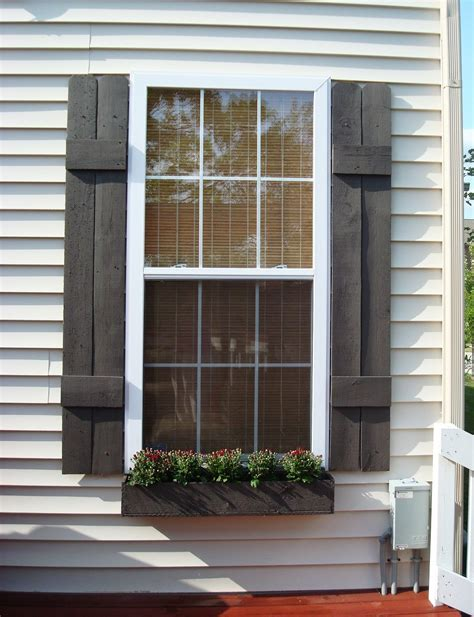 Shutter Blinds For Windows Decor Remodelaholic 25 Inspiring Outdoor Window Treatments