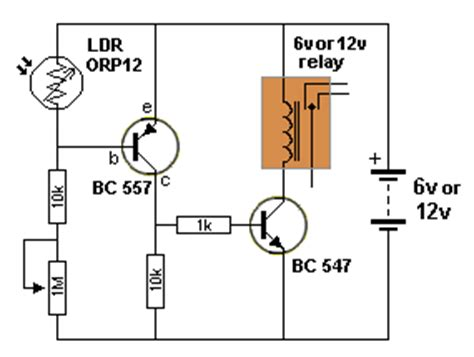 Automatic Night Light Circuit Zone Com Electronic Projects Electronic