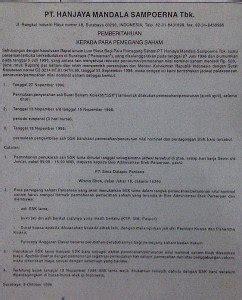 Contoh Surat Perintah Pt Duta Mandiri by Contoh Surat Pemberitahuan Surat Resmi