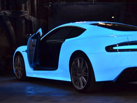 car that changes color color change wrap glow in the