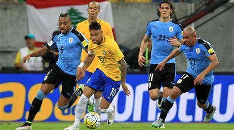 Brasil Vs 243 Sticos Eliminatorias Rusia 2018 Uruguay Vs