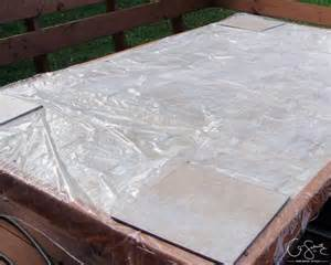 Diy tiled table top for outdoor use by q schmitz featured on