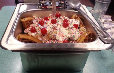 everything but the kitchen sink ice cream kitchen sink sundae home design ideas and pictures
