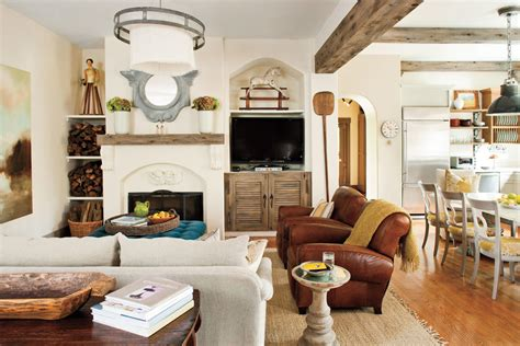 visually divide  great room  living room decorating