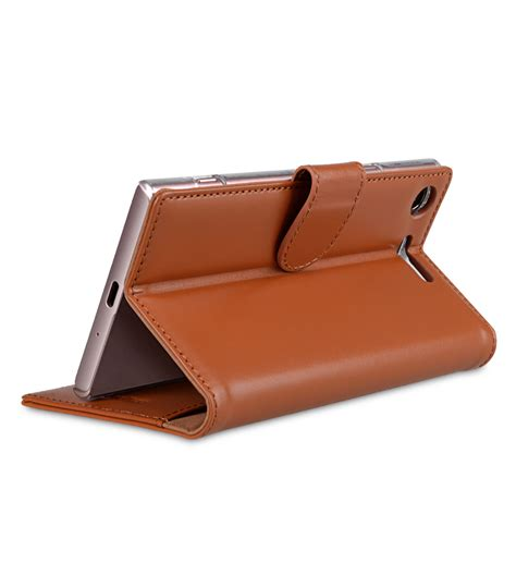 Melkco Premium Leather Wallet With Card Slot Sony Xperia Z premium leather for sony xperia xz1 wallet book