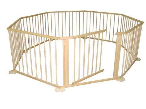 outdoor playpen large 8 sided foldable wooden baby playpen room devider indoor and outdoor use ebay