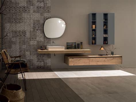 arredo bagno in legno arredo bagno completo in legno massello 21 rovere nodato