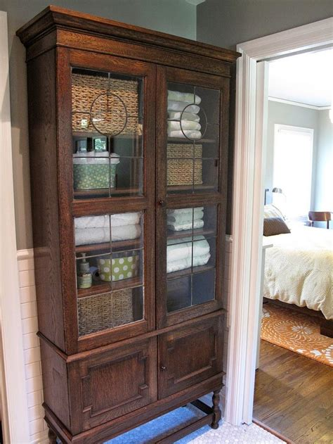 linen armoire storage 6036 best cozy cottage baths images on pinterest