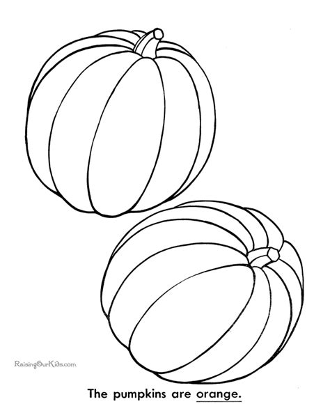 multiple pumpkin coloring pages free thanksgiving coloring pages to print 020