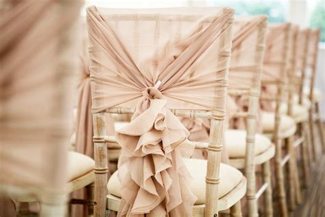 Ruffle Chair Sash by Hire Ruffle Hoods Deans Chair Covers Northtonshire