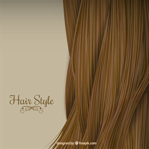 Free Hair Styler by Hair Style Background Vector Premium