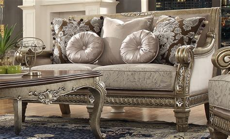 traditional upholstery traditional upholstery loveseat by homey design hd 303 l