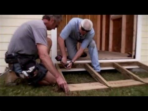 building  ramp  shed youtube