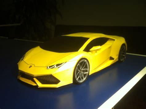 Lamborghini Papercraft - lamborghini huracan paper model