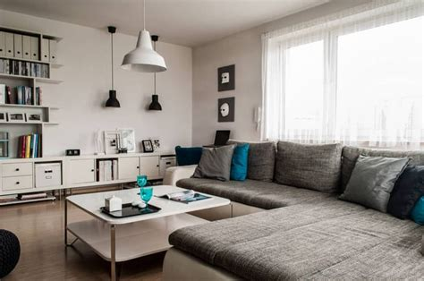 design sufragerie apartment white and grey mix for a contemporary chic apartment