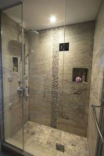 stand up shower rain shower head spa bathroom ideas