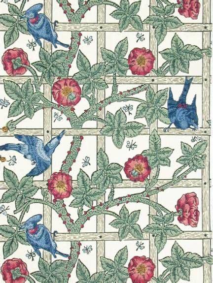 trellis pattern history william morris wallpaper words wisdom pinterest