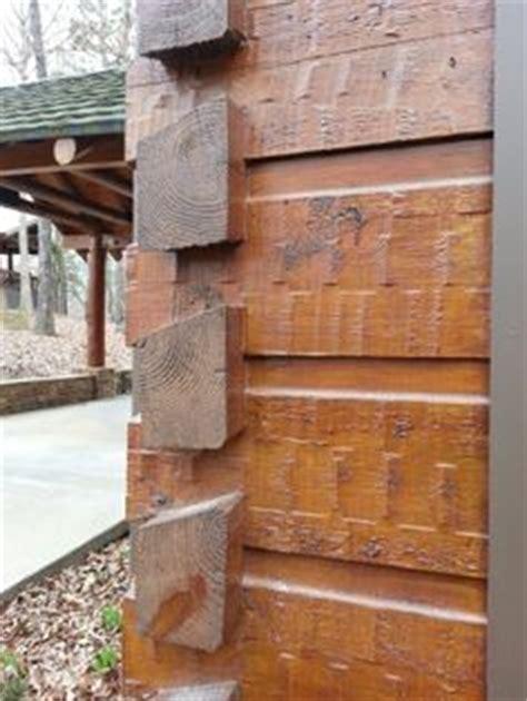 log siding machine hewn log siding with groove and hewn