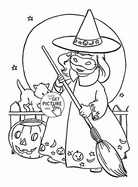 cute witch coloring page cute little witch coloring pages for kids halloween
