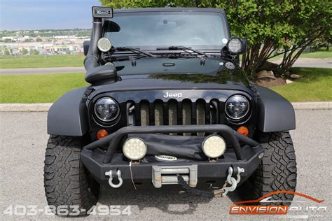 jeep wrangler custom bumper 2010 jeep wrangler custom lift winch bumper led lights