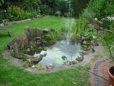 Gartenteich Mit Wasserfall 1131 der neue teich gartenteich teich garten