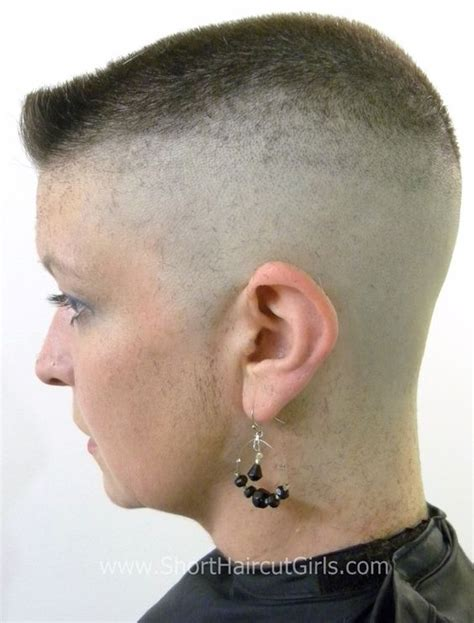 women with flattop hair pictures of barbered hairstyles for women picture short