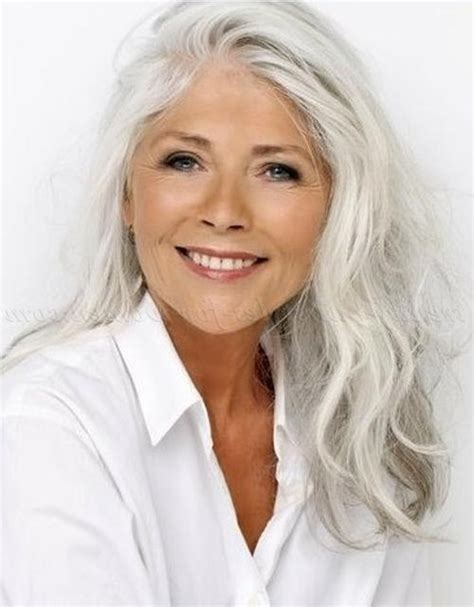 long grey hair styles for women over 50 long hairstyles for grey hair over 50 hairstyles