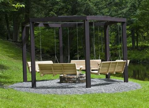swing fire pit plans awesome fire pit swing set home design garden