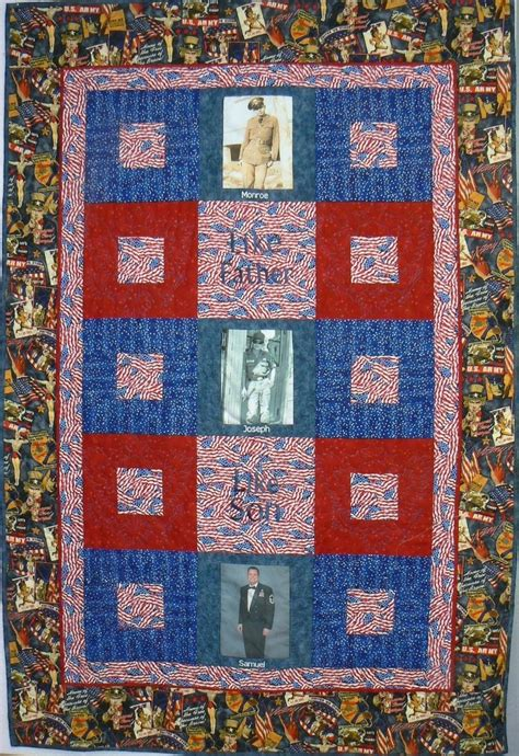 crafted custom tribute custom photo quilt by