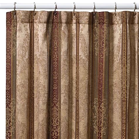 72x96 shower curtain croscill 174 townhouse 72 inch x 96 inch fabric shower