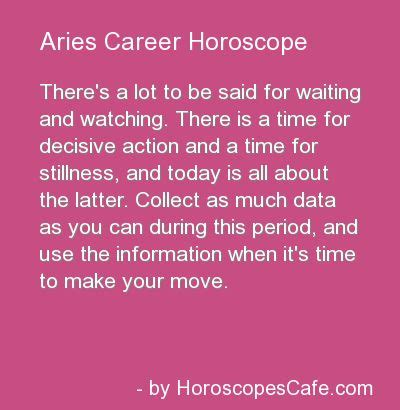 aries career horoscope aries aries aries pinterest