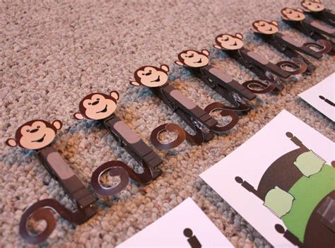 monkey craft for crafts actvities and worksheets for preschool toddler and