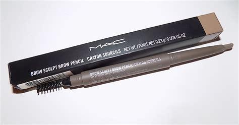 Eyebrow Pensil Mac 7 the alchemist mac brow sculpt pencil