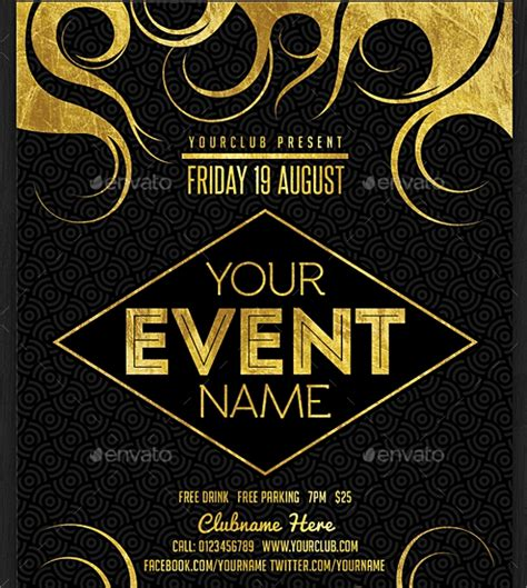 22 Event Flyer Templates Sle Templates Event Flyer Template