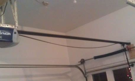 Chamberlain Garage Door Opener Belt Sags raynor garage door has sagging belt