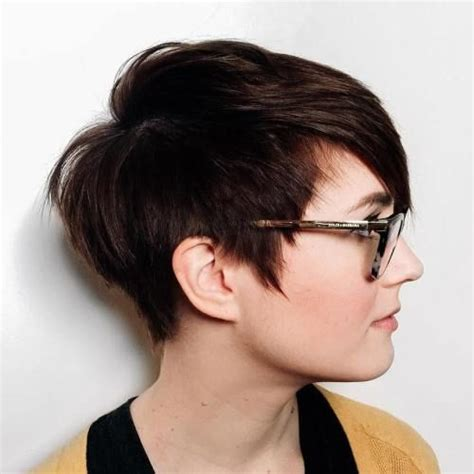edgy haircuts round faces 40 super cute looks with short hairstyles for round faces