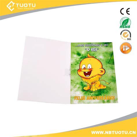 Custom Sound Birthday Cards Custom Sound Voice Music Recording Module Greeting Card