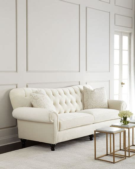 dusk tufted sofa neiman perla tufted sofa