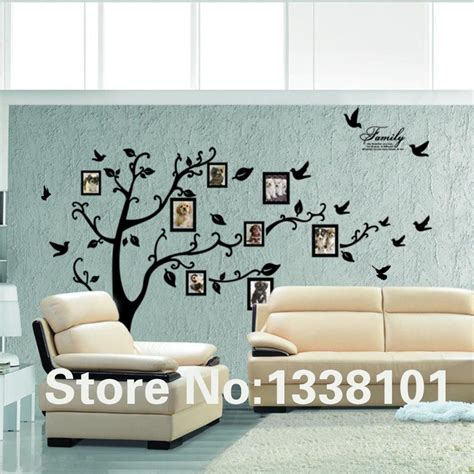 wallpaper sticker dinding 3d sticker wallpaper dinding photo tree black