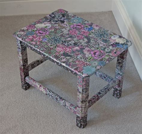 Decoupage Table Top With Fabric - 25 best ideas about decoupage table on