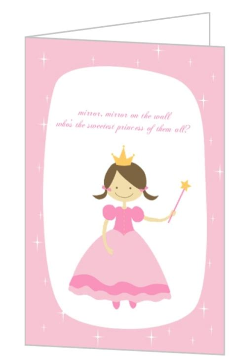 princess birthday card template pink birthday card template driverlayer search engine