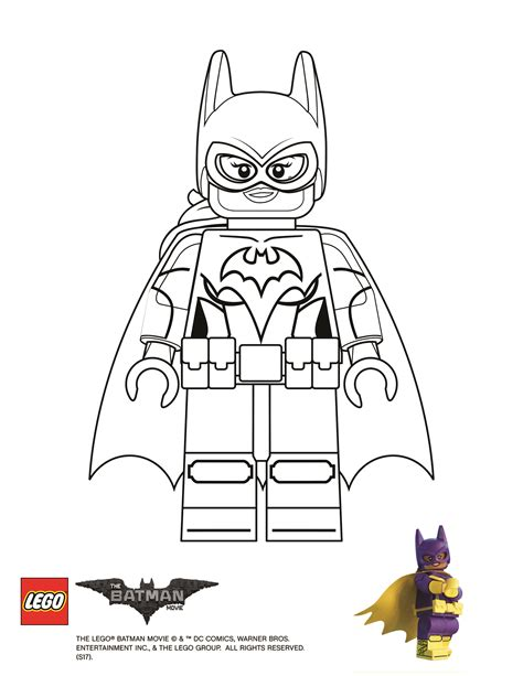 batgirl coloring pages coloring page batgirl the lego batman
