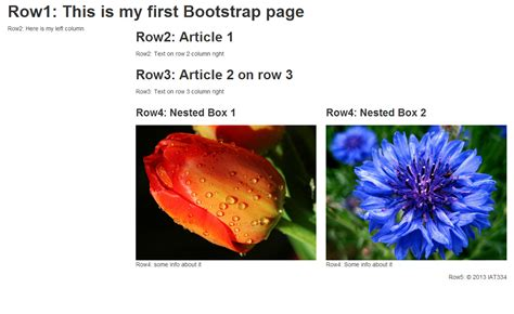 bootstrap tutorial notes twitter bootstrap grid system diliara s blog