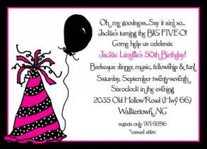 Invitation for 50th birthday party new party ideas
