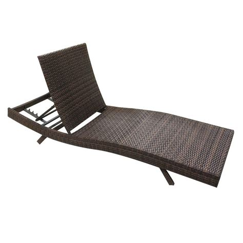 Wicker Pool Lounge Chairs by 79 Quot Outdoor Patio Furniture Pe Wicker Adjustable Pool