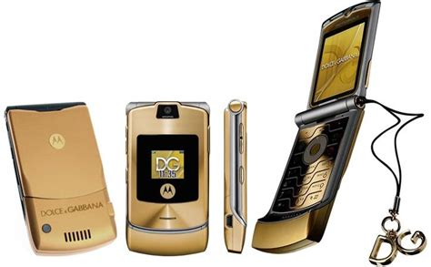 Gift It Gold Dolce Gabbana Razr V3i by Motorola Razr Dolce Gabbana Reviews Manual Price Compare