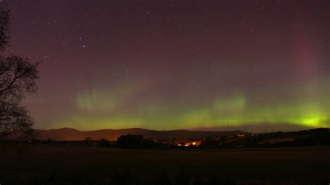 Walker Northern Lights by News In Pictures Northern Lights Scotland
