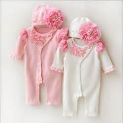 Baby girl clothes kids birthday dress girls lace rompers hats baby
