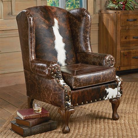 Wing Armchair by Santa Fe Wing Back Chair