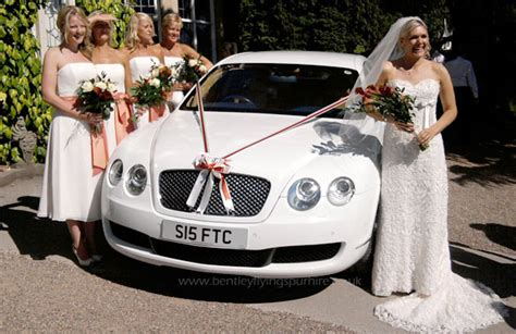 wedding bentley bentley flying spur hire wedding car